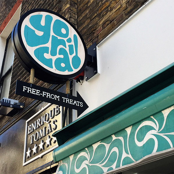 Looking for a free-from Fro-Yo in SoHo? Yorica!