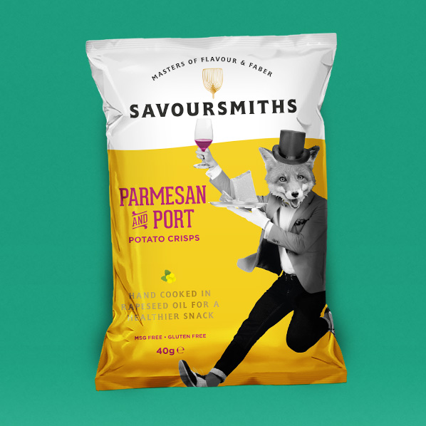Mystery designs Savoursmiths, a better breed of snack