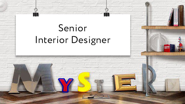 Senior interior designer wanted mystery ltd brand for Interior design jobs uk