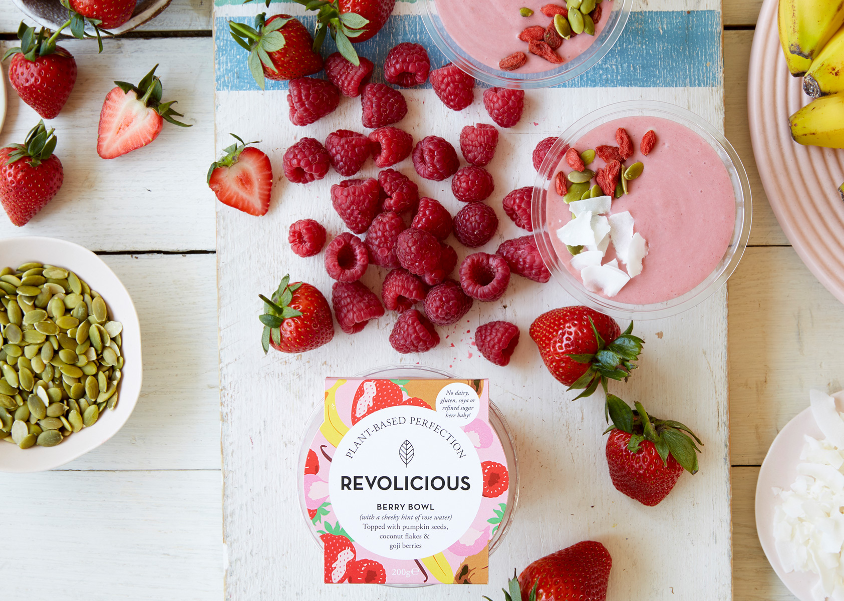 Revolicious Berry Smoothie Bowl
